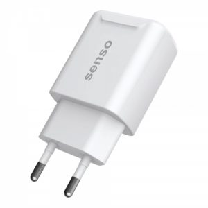 STCH24W_SENSO FAST TRAVEL CHARGER 2.1A 2 PORTS white