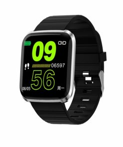 SWAID116PSB_SW AID116 PRO SMART WATCH FITNESS silver black