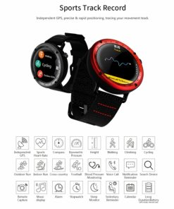 SWAL19R_SW SMART WATCH L19 FITNESS red