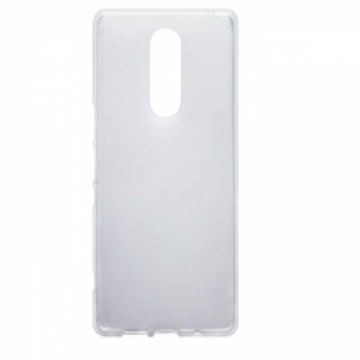 TPU03SO1TR_iS TPU 0.3 SONY XPERIA 1 trans backcover