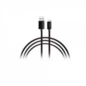 USBPLMB_FONEX DATA CABLE 2 IN 1 MICRO USB / LIGHTNING REVERSIBLE 1m black