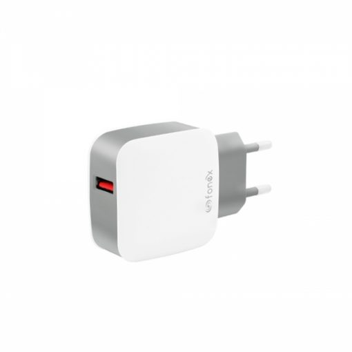 USBTC3AW_FONEX TRAVEL CHARGER 3.1A white
