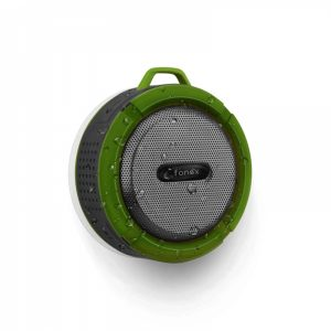 WPWH03_FONEX PORTABLE SPEAKER WITH BLUETOOTH green