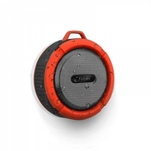 WPWH04_FONEX PORTABLE SPEAKER WITH BLUETOOTH red