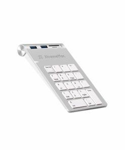 XM-NPHUB32-SLV_XTREMEMAC NUMPAD WITH HUB 3 USB PORTS silver