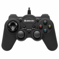 64251_DEFENDER GAME RACER TURBO RS3 GAMEPAD WIRED CONTROLLER PC/PS1/PS2/PS3 12 BUTTONS