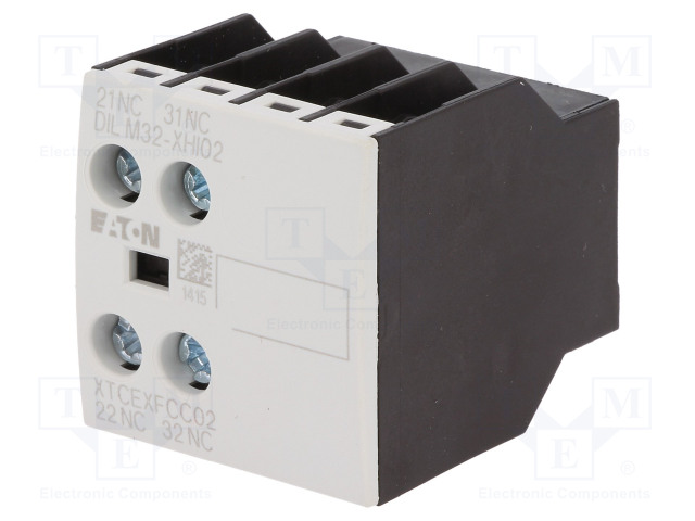DILM32-XHI02_Auxiliary contacts; Leads: screw terminals; Mounting: front