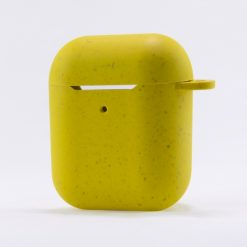 BXAIRECO03_KSIX ECO FRIENDLY CASE FOR AIRPODS yellow
