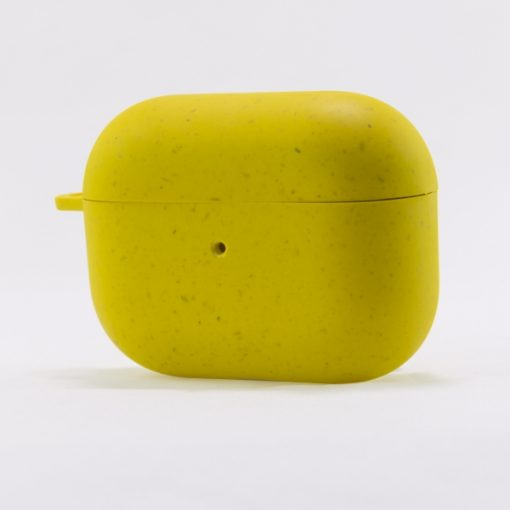 BXAIRPROECO03_KSIX ECO FRIENDLY CASE FOR AIRPODS PRO yellow