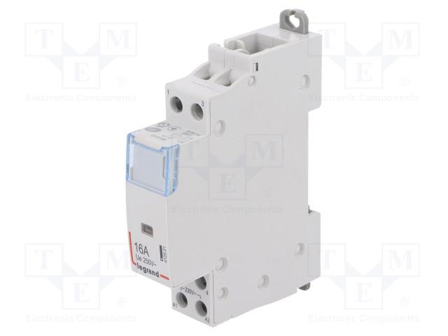 SM 416 230V NO+NC_Contactor:2-pole installation; NC + NO; 230VAC; 16A; DIN; SM400