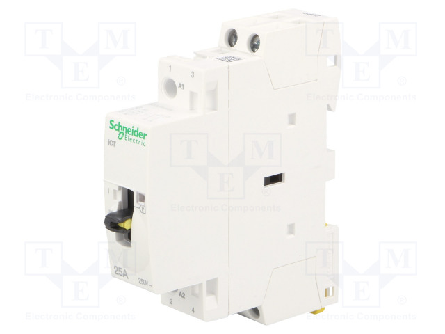A9C21732_Contactor:2-pole installation; NO x2; 230÷240VAC; 25A; DIN; ICT