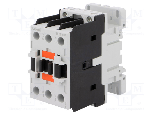 BF3800A024_Contactor:3-pole; NO x3; 24VAC; 38A; DIN; BF; screw terminals; 690V