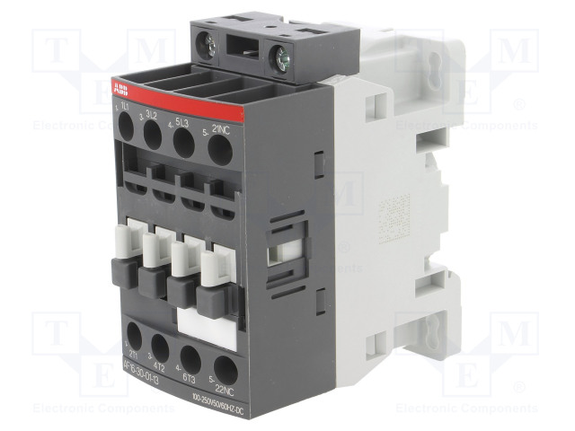 1SBL177001R1301_Contactor:3-pole; NO x3; Auxiliary contacts: NC; 100÷250VAC; 16A
