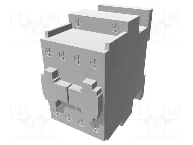 BF1201A110_Contactor:3-pole; NO x3; Auxiliary contacts: NC; 110VAC; 12A; DIN