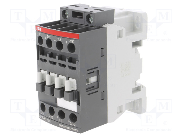 1SBL177001R4101_Contactor:3-pole; NO x3; Auxiliary contacts: NC; 24÷60VAC; 16A