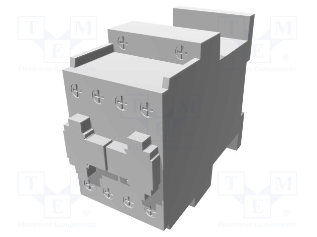 BF1210D110_Contactor:3-pole; NO x3; Auxiliary contacts: NO; 110VDC; 12A; DIN