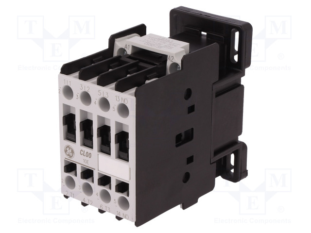 CL00A310T3_Contactor:3-pole; NO x3; Auxiliary contacts: NO; 115VAC; 9A; CL