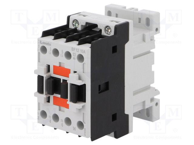 BF1210A024_Contactor:3-pole; NO x3; Auxiliary contacts: NO; 24VAC; 12A; DIN
