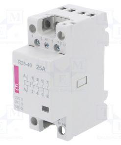 R 25-40 230V_Contactor:4-pole installation; NO x4; 230VAC; 25A; DIN; R