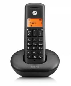 E201B_CORDLESS PHONE MOTOROLA E201 black