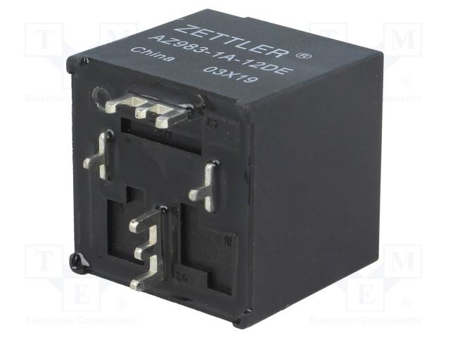 AZ983-1A-12DE_Relay: electromagnetic; SPST-NO; Ucoil:12VDC; 80A; automotive