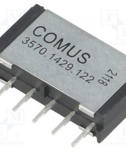 3570.1429.122_Relay: reed; DPST-NO; Ucoil:12VDC; 1A; max.200VDC; 15W; Rcoil:750Ω