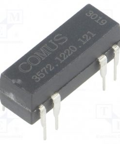 3572.1220.121_Relay: reed; DPST-NO; Ucoil:12VDC; 500mA; max.150VDC; 10W; THT