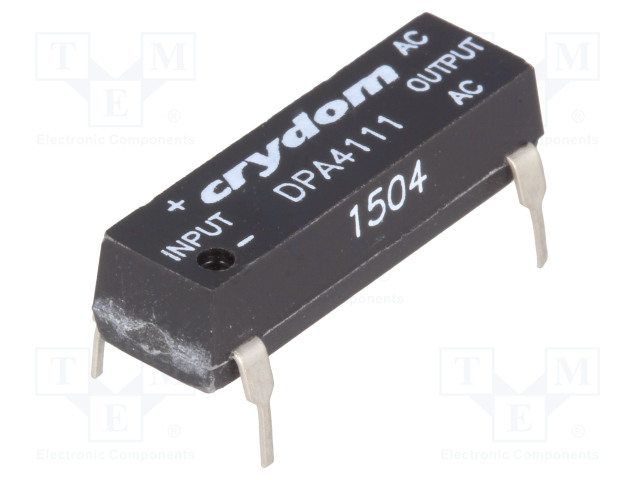 DPA4111_Relay: solid state; Icntrl:10÷35mA; 1A; 20÷140VAC; THT; DIP