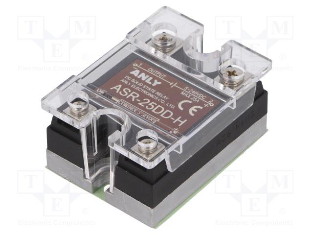 ASR-25DD-H_Relay: solid state; Ucntrl:3÷32VDC; 25A; 5÷240VDC; Series: ASR