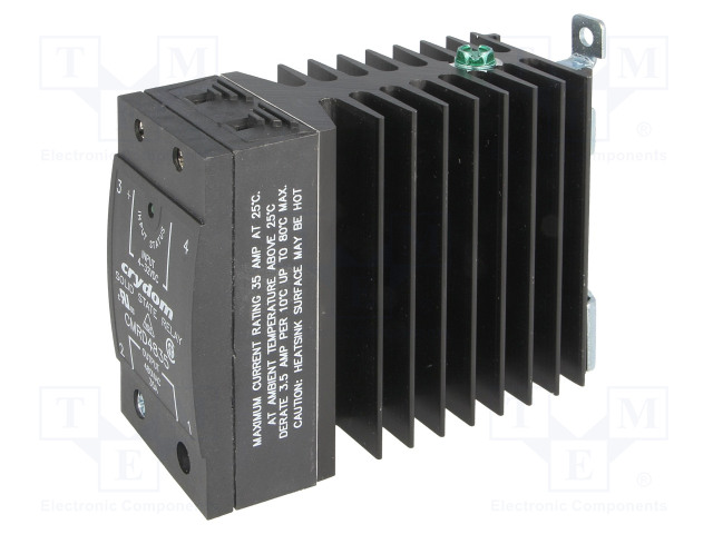 CMRD4865_Relay: solid state; Ucntrl:3÷32VDC; 65A; 48÷530VAC; DIN