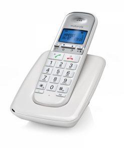 S3001W_CORDLESS PHONE MOTOROLA S3001A white