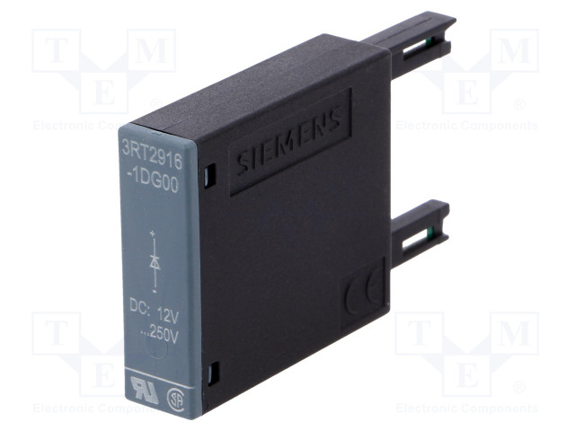 3RT2916-1DG00_Surge arrestor; noise suppression diode; Series:3RT20; Size: S00