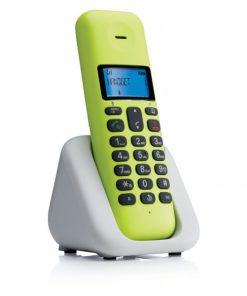 T301L_CORDLESS PHONE MOTOROLA T301 lime