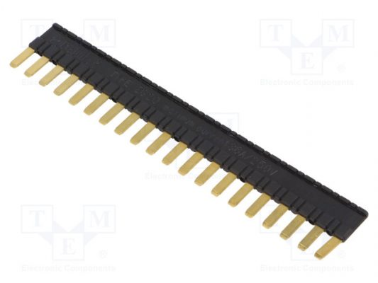 ZG20-2_Connection bridge; 36A; OEM:2608955; Colour: black; 250VDC