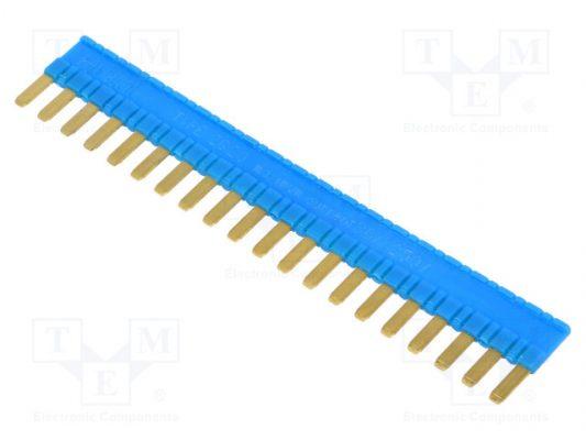 ZG20-3_Connection bridge; 36A; OEM:2608956; Colour: blue; 250VDC