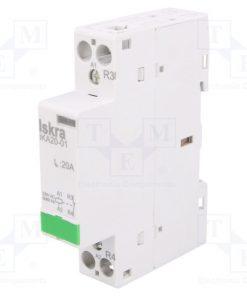 30.046.716_Contactor:1-pole installation; NC; 230VAC; 20A; DIN; IKA