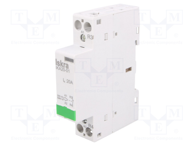 30.046.716_Contactor:1-pole installation; NC; 230VAC; 20A; DIN; IKA