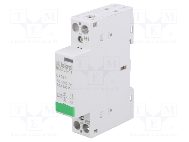 30.046.844_Contactor:1-pole installation; NC; 24VAC; 32A; DIN; IKA