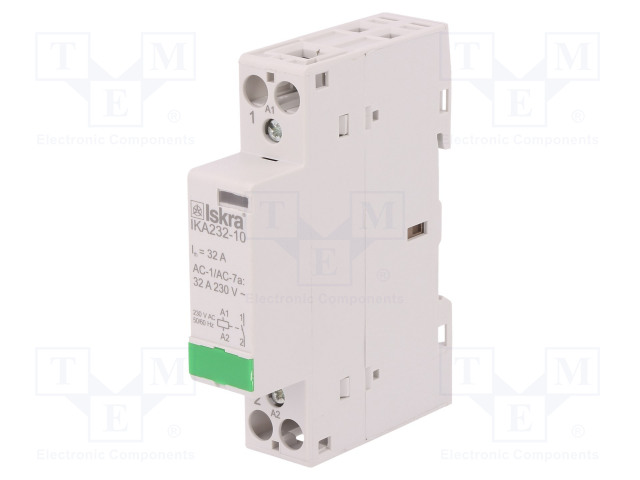 30.046.838_Contactor:1-pole installation; NO; 230VAC; 32A; DIN; IKA