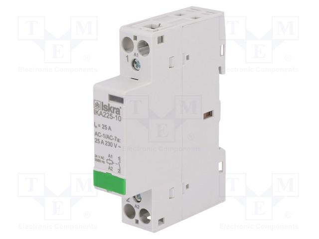30.046.710_Contactor:1-pole installation; NO; 24VAC; 25A; DIN; IKA