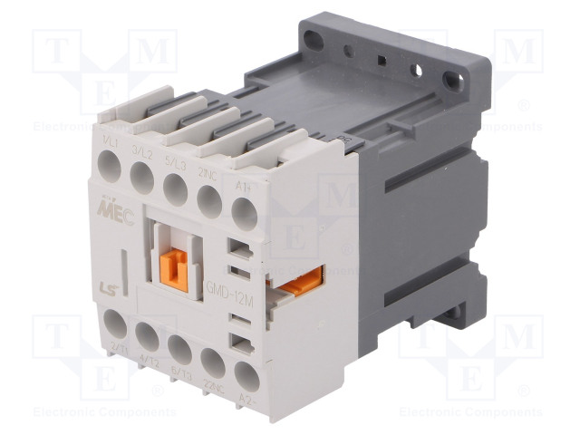 GMD-12M 24VDC 1B_Contactor:3-pole; NO x3; Auxiliary contacts: NC; 24VDC; 12A; IP20