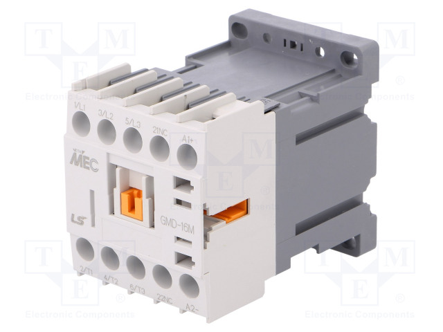 GMD-16M 24VDC 1B_Contactor:3-pole; NO x3; Auxiliary contacts: NC; 24VDC; 16A; IP20