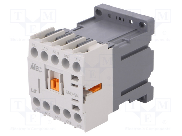 GMD-9M 24VDC 1B_Contactor:3-pole; NO x3; Auxiliary contacts: NC; 24VDC; 9A; W:45mm