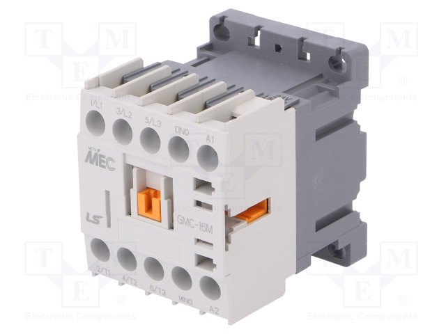 GMC-16M 24VAC 1A_Contactor:3-pole; NO x3; Auxiliary contacts: NO; 24VAC; 16A; IP20