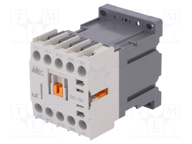 GMD-16M 24VDC 1A_Contactor:3-pole; NO x3; Auxiliary contacts: NO; 24VDC; 16A; IP20