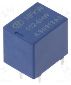 HFKW/012-SHW_Relay: electromagnetic; 1 Form U; Ucoil:12VDC; 10A; 144Ω; 1W