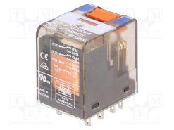 6-1419111-1_Relay: electromagnetic; 24VDC; industrial; Series: PT