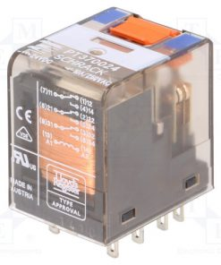 6-1419111-1_Relay: electromagnetic; 24VDC; industrial; Series: PT