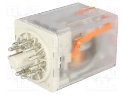 R15-2013-23-5024-WTL_Relay: electromagnetic; 3PDT; 24VAC; 10A; industrial; Series: R15