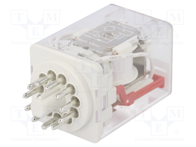 HF10FH/230A-3ZDT_Relay: electromagnetic; 3PDT; Ucoil:230VAC; 10A/250VAC; 10A/30VDC